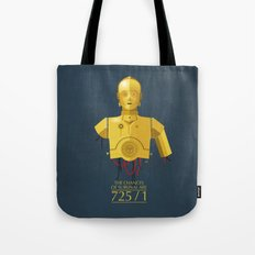 Never Tell Me The Odds (C3P0) Tote Bag