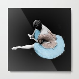 """EVERYTHINGS BEAUTIFUL AT THE BALLET"" Metal Print"