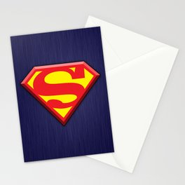 Super Hero Super Man Stationery Cards