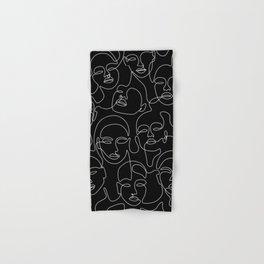 Expression In Dark Hand & Bath Towel