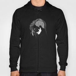 women skull  Hoody