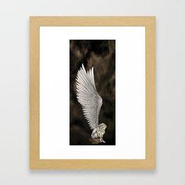 Angel's Wings Framed Art Print