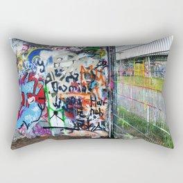 Mauerpark Graffiti Artwork Berlin Rectangular Pillow