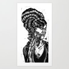 The Swarm Art Print