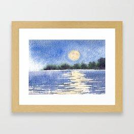 Harvest Moon 2013 Framed Art Print