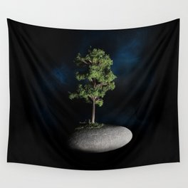 The First Sanctuary in Space Wall Tapestry