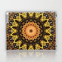 Gold Star Bohemian Mandala Design Laptop & iPad Skin