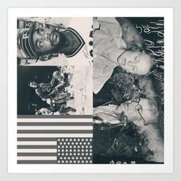 Fucked Americana Art Print