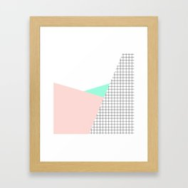 its simple III Framed Art Print