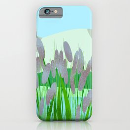 Near to river iPhone Case