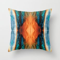 The Great Spirit - Abstract Art By Sharon Cummings Throw Pillow