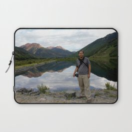 Photographer on Crystal Lake Laptop Sleeve