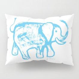 Blue elephat Pillow Sham