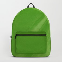 Blurred Emerald Green Wave Trajectory Backpack