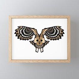 Flying Owl   Animal Designs   DopeyArt Framed Mini Art Print