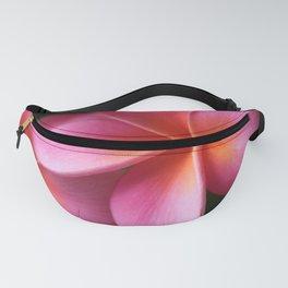 Pua Lei Aloha Cherished Blossom Pink Tropical Plumeria Hina Ma Lai Lena O Hawaii Fanny Pack
