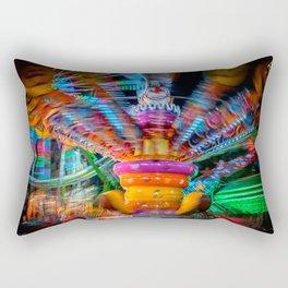 Cray Cray crazy fun at the carnival Rectangular Pillow