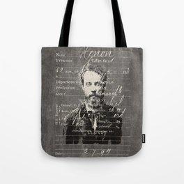 ROGUES GALLERY / 1894 Criminology - Bertillonage 003 Tote Bag