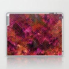Imprinted Shocking Pink Metal Look Laptop & iPad Skin