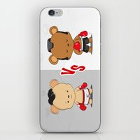 boxing iPhone & iPod Skins featuring Boxing Bears by Yolanda Yvette