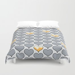 Beer My Valentine Duvet Cover