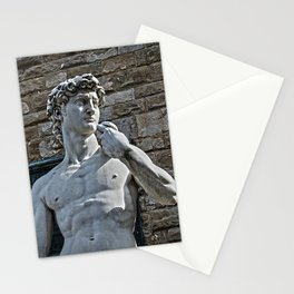 The Statue of David Stationery Cards