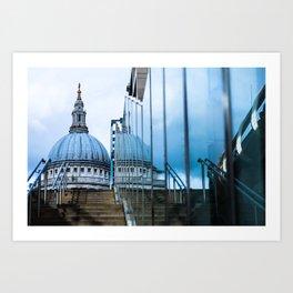 Blue Dome Art Print