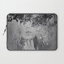 Soul - surreal dreamy portrait, woman nature photo, spiritual portrait Laptop Sleeve