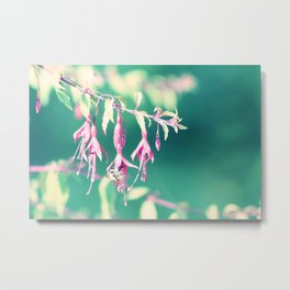 Lightful Autumn Flower of Love & Light Metal Print