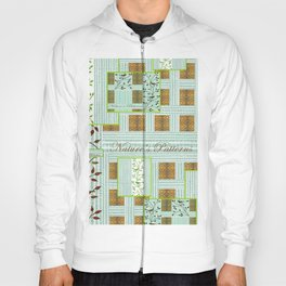 Nature's Patterns Series: Titled Pattern Hoody