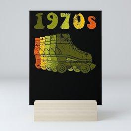 1970s Roller Skate Mini Art Print