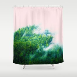 Into The Fog #society6 #decor #buyart Shower Curtain