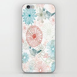 Floral dreams iPhone Skin