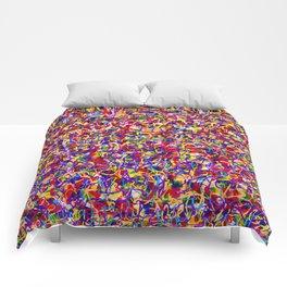 Cuz it's hot Pop Graffiti Comforters
