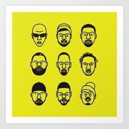 Wu-Tang Clan Art Print