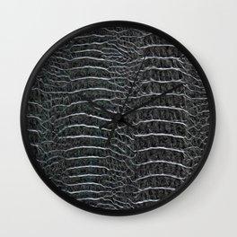 EXOTIC PRINT JC SNAKE BLACK Wall Clock