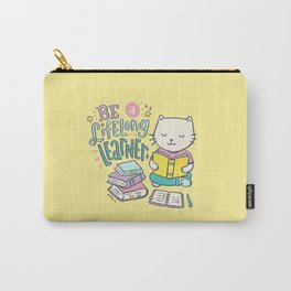 Be a Lifelong Learner Carry-All Pouch