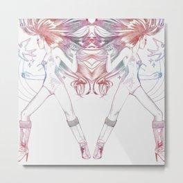 rainbow stylin' Metal Print