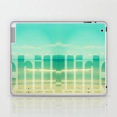 Chill - Photograph - Ocean, beach, waves Laptop & iPad Skin
