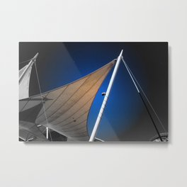 Sails in Autumn Metal Print