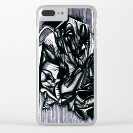 Forms Clear iPhone Case