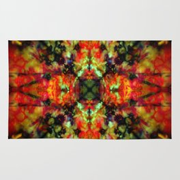 Kaleidoscope star pattern Rug