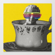 Fancy a cup of genius? Canvas Print