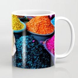 Dyed Sawdust in a Guatemalan Market Coffee Mug
