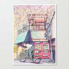 Bicycle Boy 02 Canvas Print