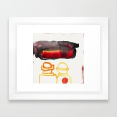 It's the end of the world as we know it -migraine  Framed Art Print