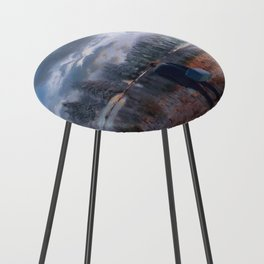The coming of the dawn Counter Stool