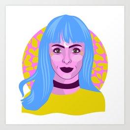 // MOON-DROP // Art Print