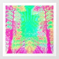 29-08-15 (Trees) Art Print