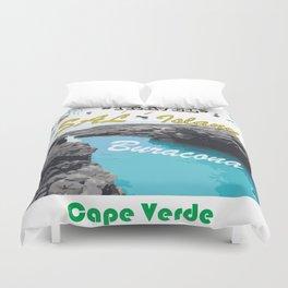 Sal Island Duvet Cover